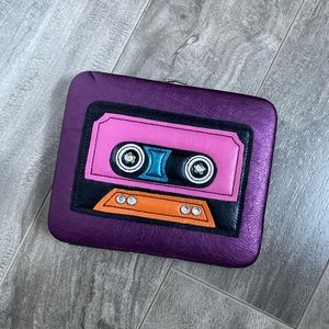 Cassette Tape Decal clutch